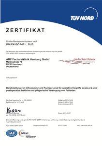 TÜV Zertifikat ISO-9001-2015