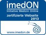 imedon-zertifikat - deutschlands beste klinikwebsite